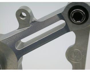 Kit pedane regolabili con viti in titanio, cambio rovesciato