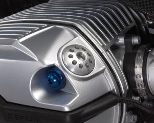 Aluminium oil plug