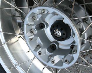 Rear wheel protection slider