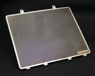 Titanium water radiator protection screen
