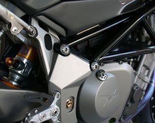Titanium frame plugs kit (Nr. 4)