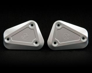 Pair oil reservoir caps for genuine clutch and brake master cylinder