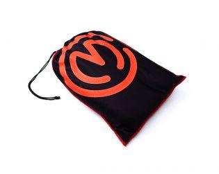 Telo coprimoto nero con logo rosso Motocorse