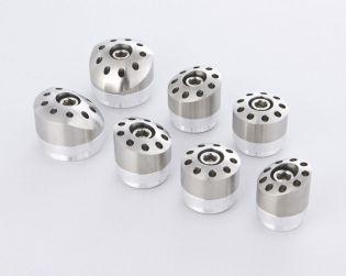 Titanium frame plugs (Nr. 7)
