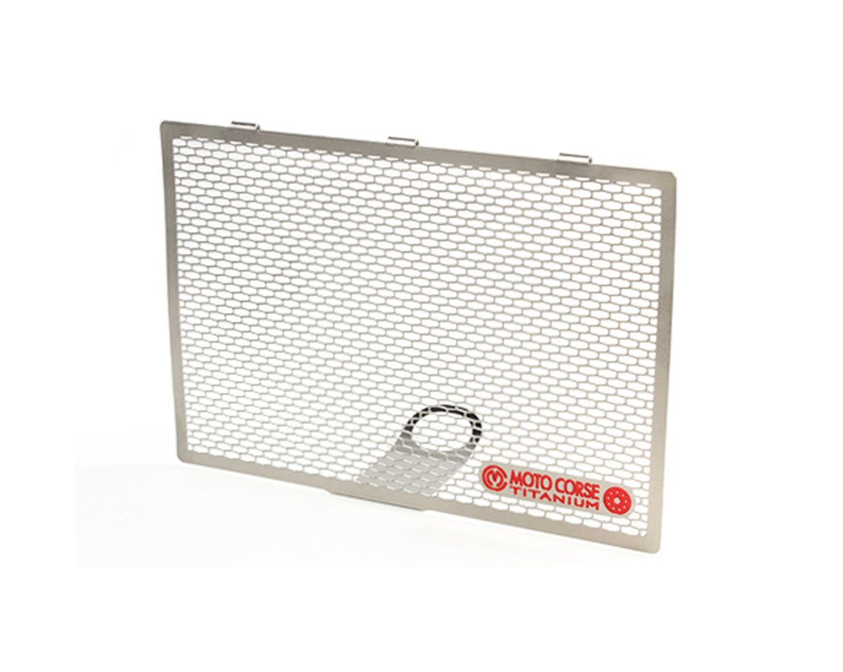 Titanium oil radiator protector screen