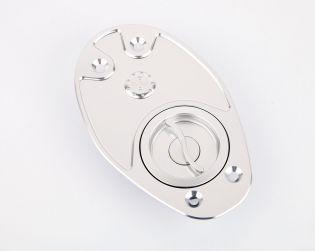 Tappo serbatoio Quick action in alluminio ricavato dal pieno