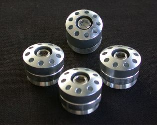 Aluminium frame plugs 4pc