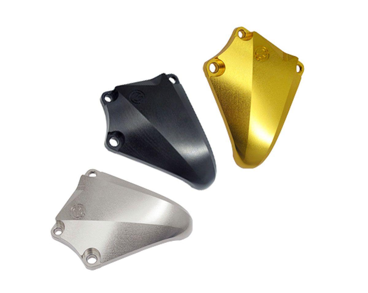 Protezione motore destra in alluminio