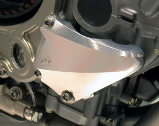 Right side billet crankcase protection