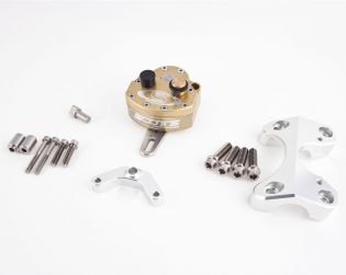 Complete Scotts steering damper kit (with rotative damper and supports)