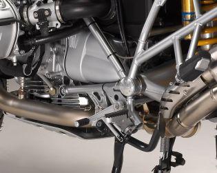 Aluminium frame plugs (Nr. 3) rear swingarm pivot