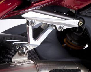 Silencers support braket kit