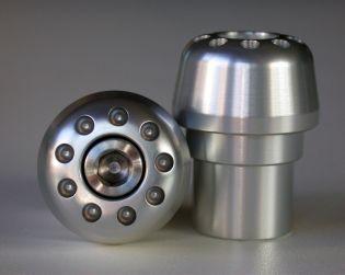 Kit contrappesi manubrio in alluminio