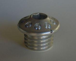 Tappo introduzione olio motore in Alluminio
