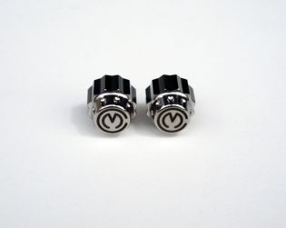 Pair Titanium valves caps kit for rims