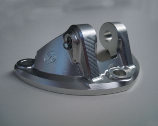 Machined from solid alluminium rear suspension lower support