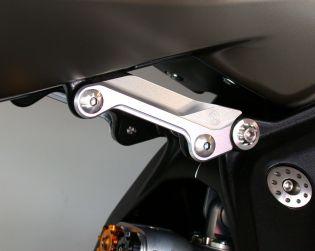 Kit coperchi telaietto posteriore in alluminio