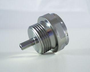 Titanium engine oil drain plug