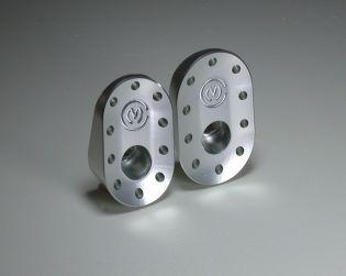 Aluminium upper frame plates plugs Kit