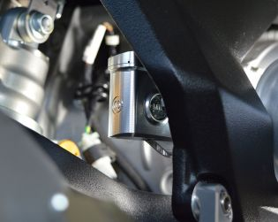 Machned from solid rear brake oil reservoir kit