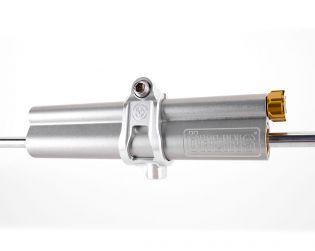 Kit completo ammortizzatore sterzo lineare Ohlins con supporto ricavato dal pieno