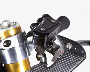 Machined from solid Brake and Clutch oil reservoirs kit for Brembo radial racing pumps