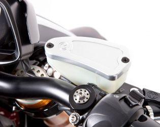 Oil reservoir cap for OEM Nissin brake master cylinder