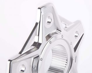 Machined from solid Aluminium sprocket carrier New Design