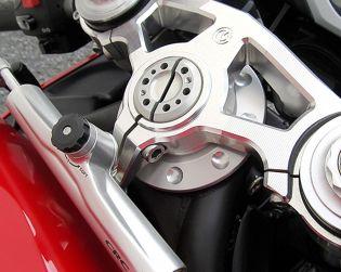 Billet steering head dust-proof cover