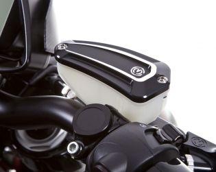 New Design oil reservoir cap with Titanium screws for OEM Nissin brake master cylinder
