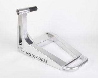 """Nuovo cavalletto posteriore monobraccio """"SBK"""" in alluminio scatolato"""
