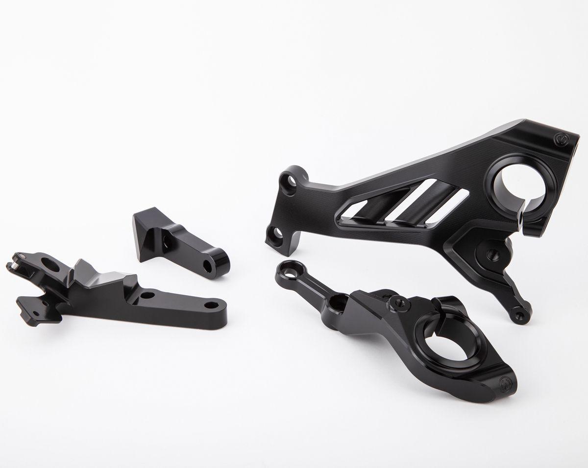 Billet Aluminum side frame plates kit Panigale V4